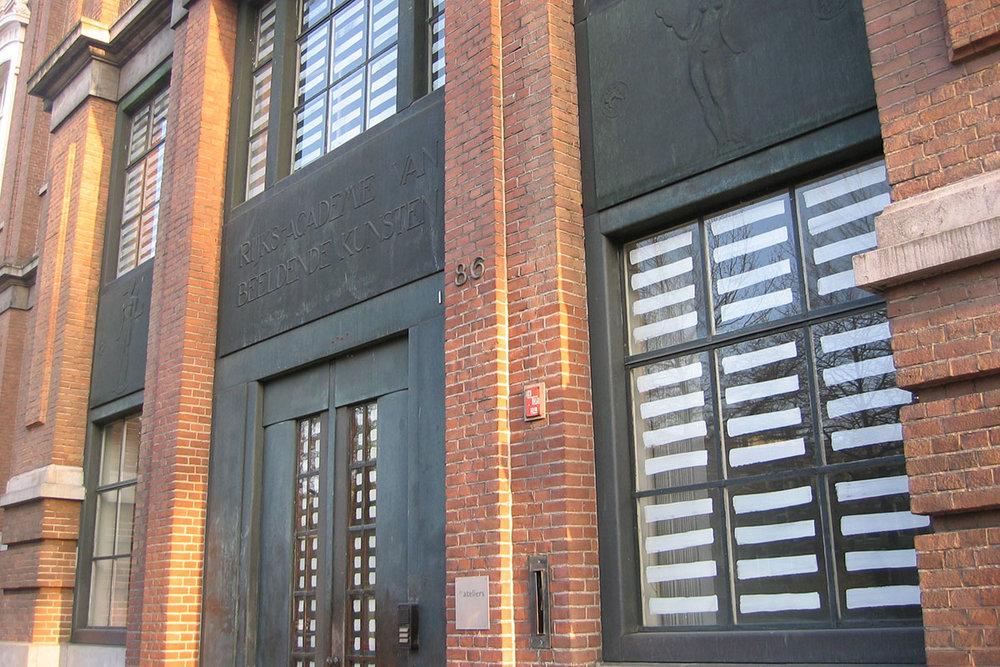 De Ateliers, facade