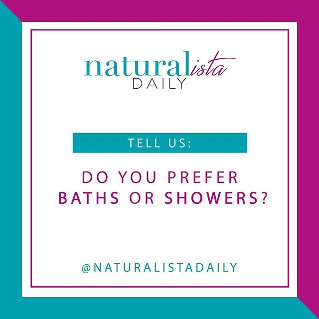 Baths or showers? Which do you prefer? 🤔 Tell us below 👇🏽
