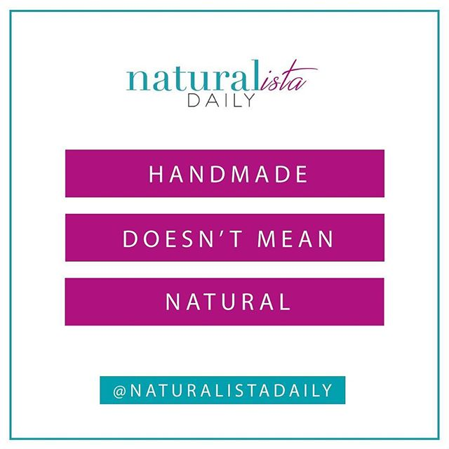 """Just because someone stamps HANDMADE on products does not mean they contain natural ingredients. It literally means HANDMADE. Many of us get excited when we see that a product is handmade that we don't realize what is really going on. Companies have gotten smart and if their products are made by hand, they will put """"handmade"""" on their bath bombs, soaps, etc even though they are full of toxins. . . It is ALWAYS safer to just #readthelabel! Don't let trick words deceive you! 🌸"""