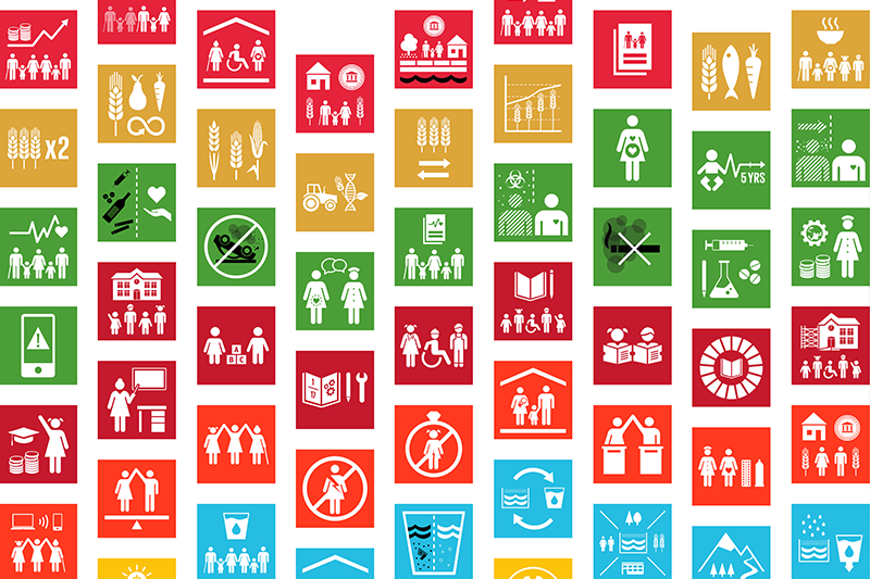 Bild: Globala målens delmål