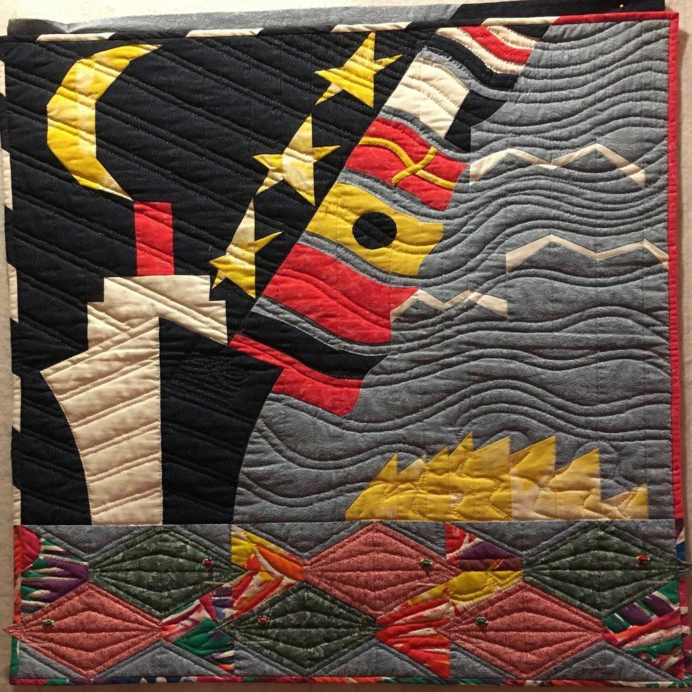 Cruise & Quilt Banner