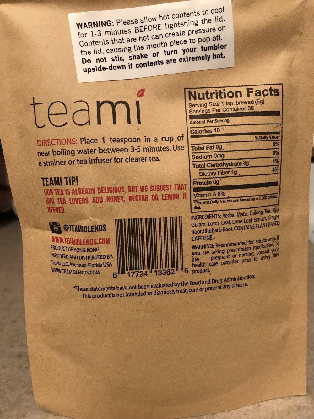 Teami Skinny Tea: Back.JPG