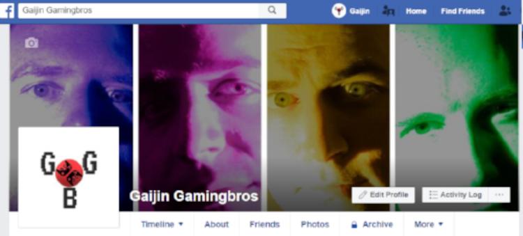 No twitter…?Follow on facebook! - Gaijin Gaming Bros Facebook