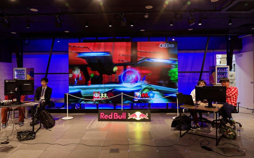 Tokyo Smash Party Final Tournament Main Screen