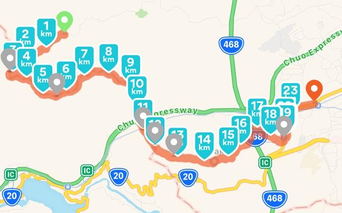 Mount Jinba to Mount Takao! Nice 23km!