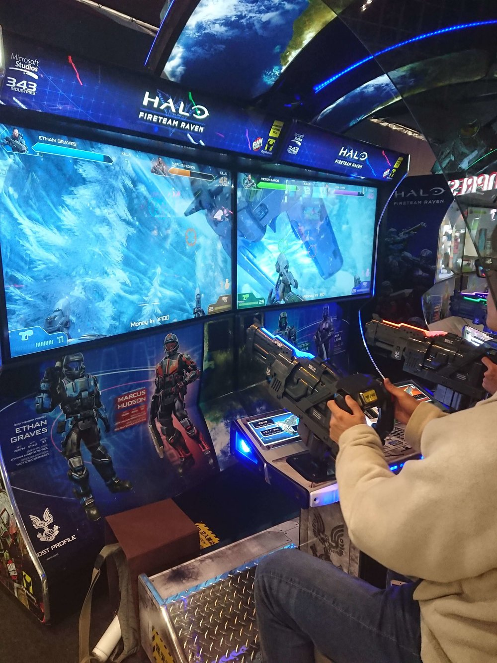 Halo Fireteam Raven Attraction at Tokaigi