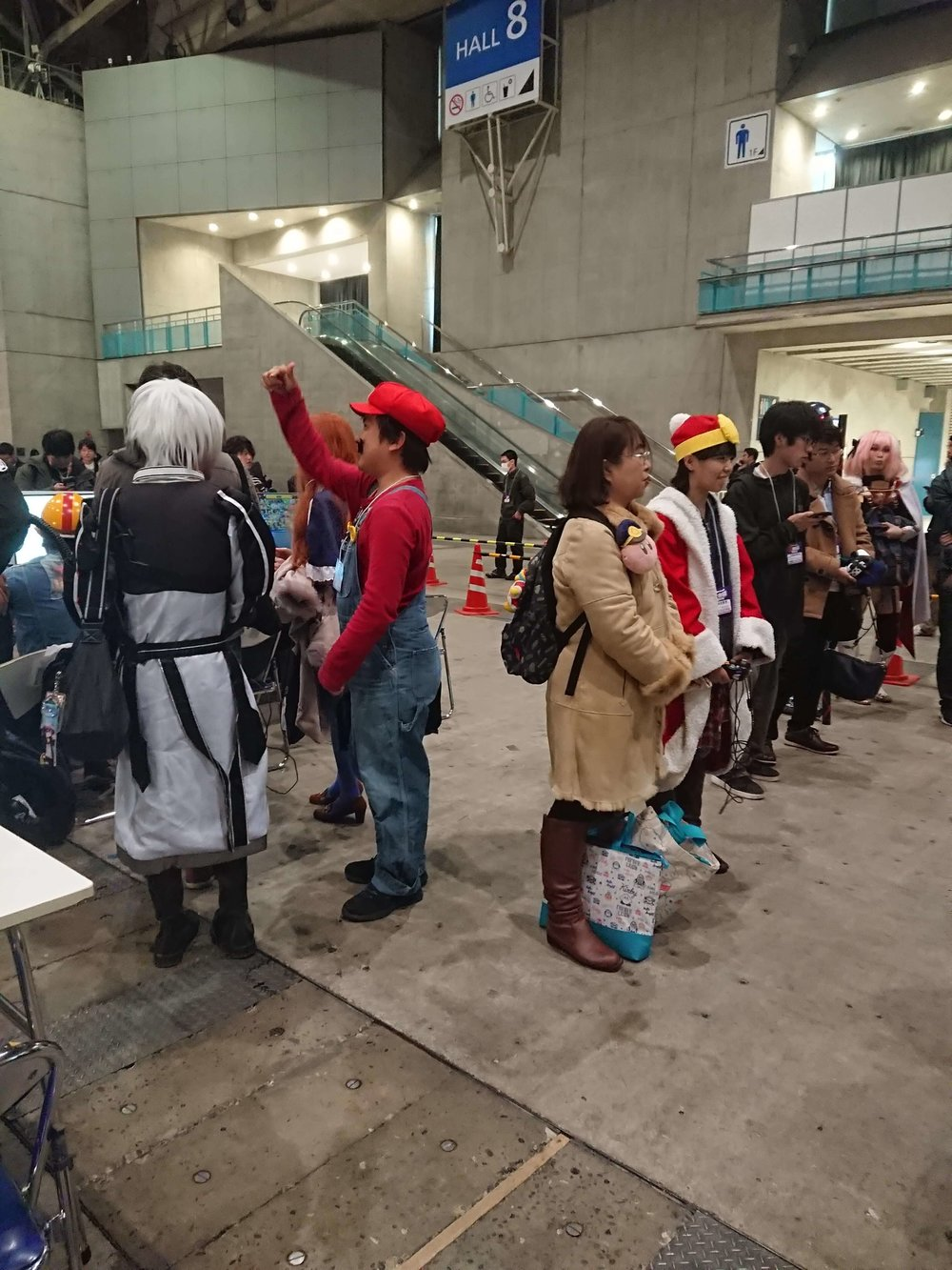 Mario and Dedede Cosplayers at Tokaigi