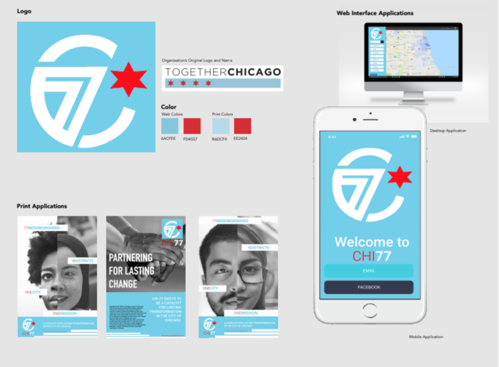 Together chicago - UI Design and UX Architecture