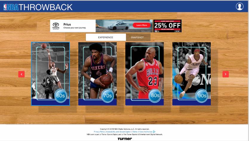 NBA THROWBACK - Coming Soon
