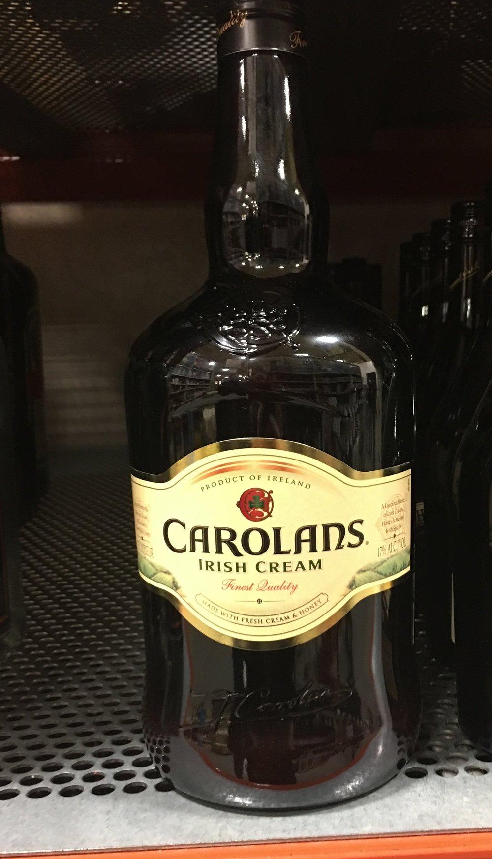 Delicious, cheap Carolans