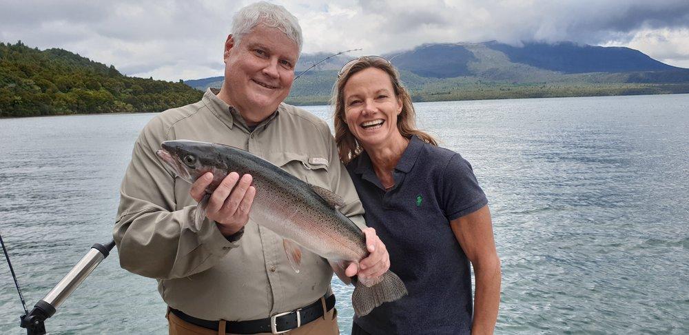 Lake Tarawera Fishing