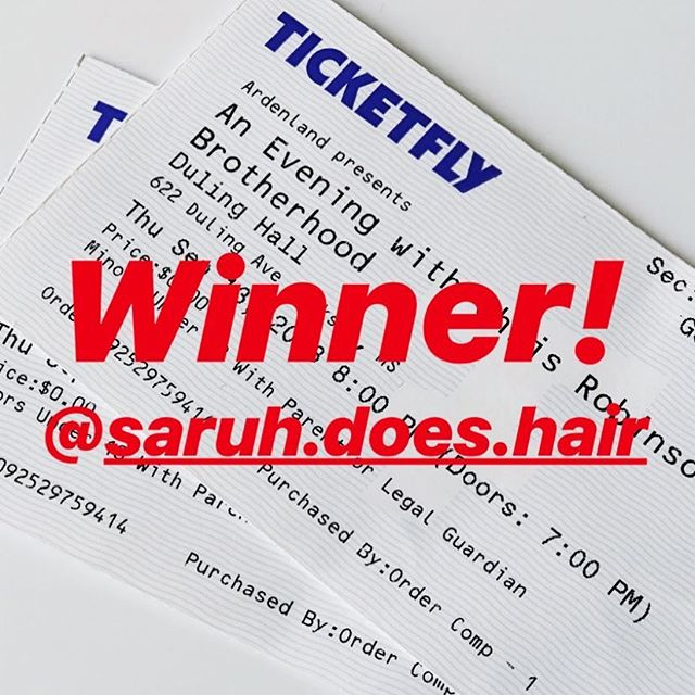 Congratulations to our Night Out In Fondren winner @saruh.does.hair !!