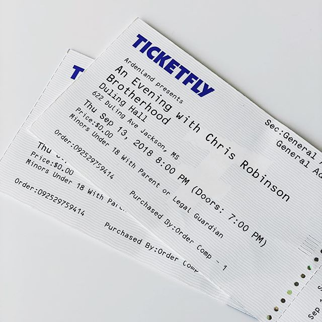 Who's ready for Chris Robinson Brotherhood?? We are!! Who's ready to win two tickets provided by @ardenland and dinner for two @brentsdrugs ?? . . That's right...we are partnering with two of our #cityclubpartners to bring one lucky winner a Night Out In Fondren!! . . Enter to win: 1. Follow us 2. Follow @ardenland & @brentsdrugs  3. Tag friends . . We will announce the winners tomorrow at 1:00pm.