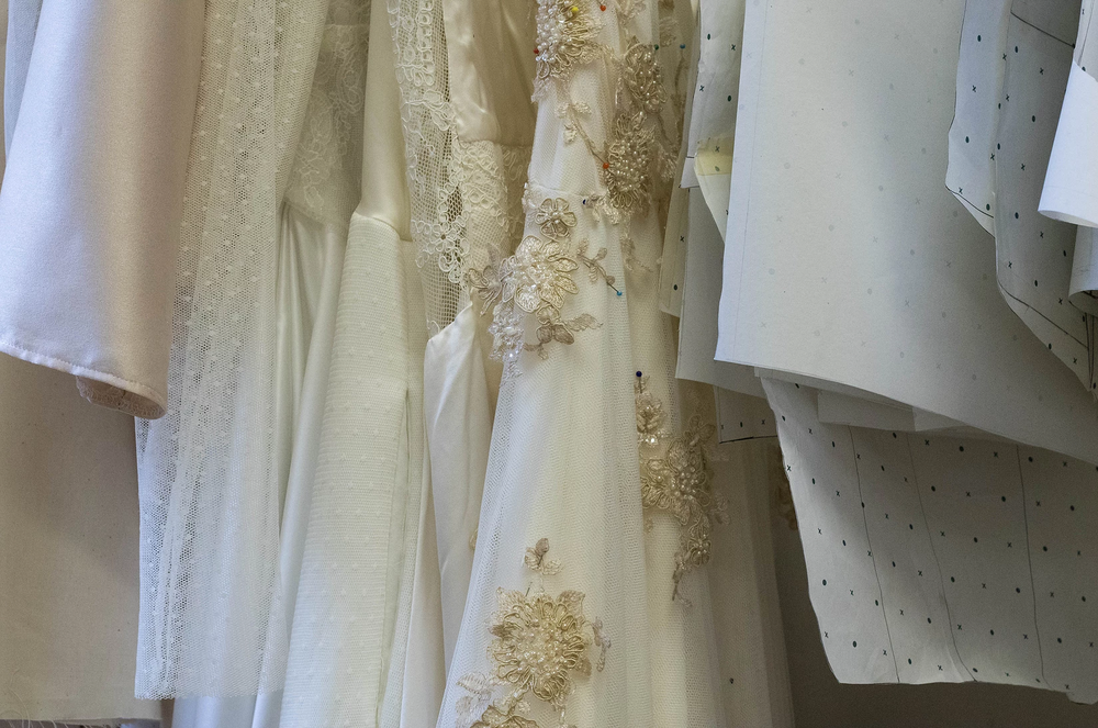 ALL OF OUR DRESSES ARE HANDMADE IN OUR STUDIO. WE CAN CATER FOR ANY FIT, AND IF YOU WANT TO STAND OUT EVEN MORE, WE CAN CUSTOMISE TO YOUR HEARTS CONTENT. -