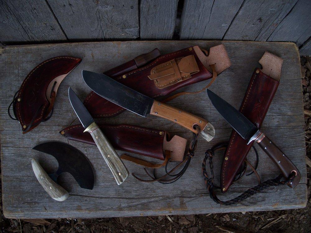 Bushcraft Hunting Knife Set