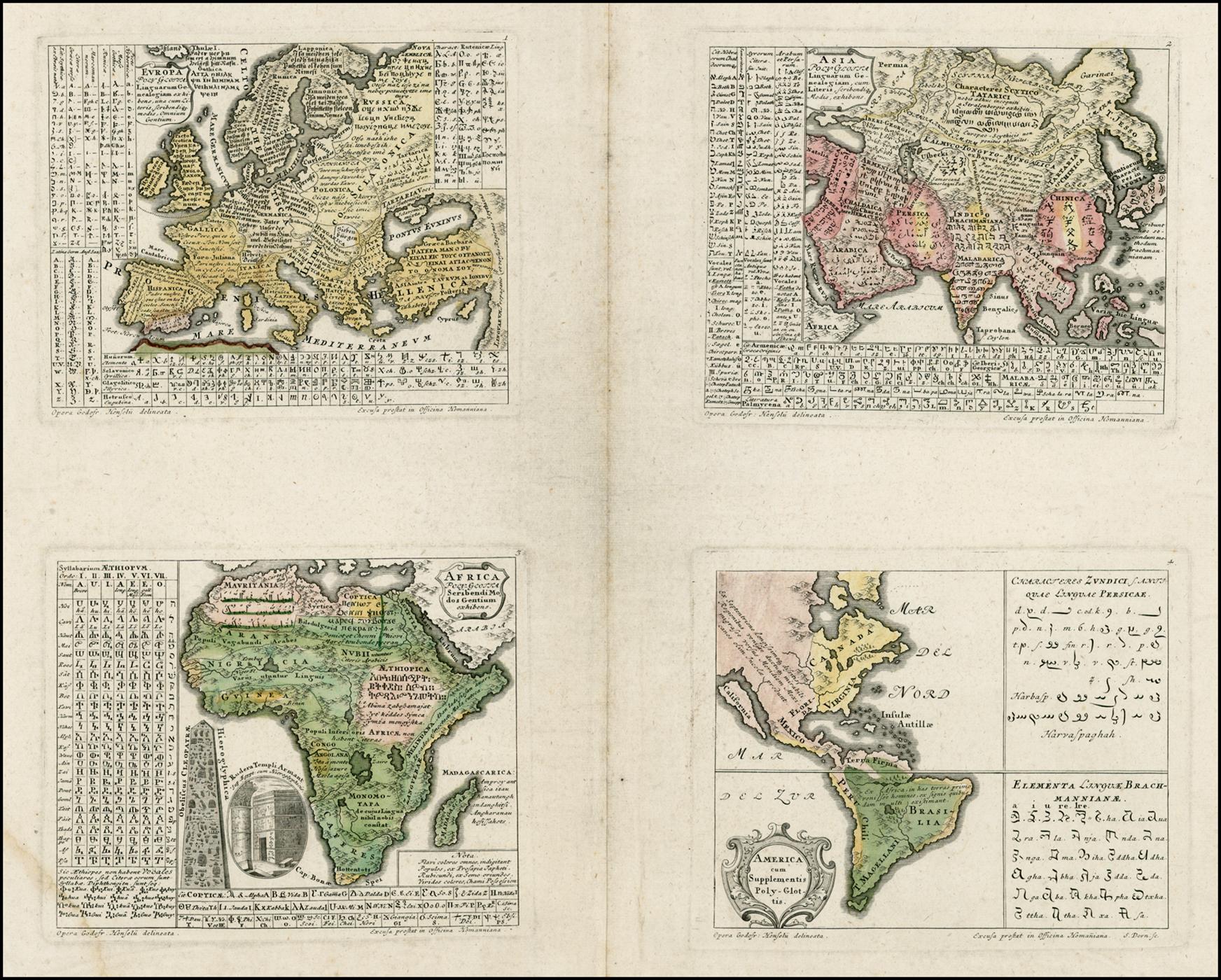 Godofredus Henselius, Synopsis Universae Philologiae, 1741