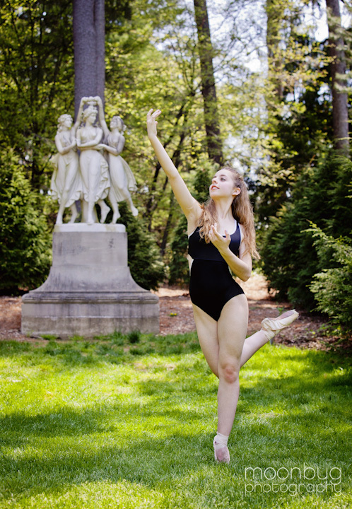 Senior Photography and ballet photography in Indianapolis by Moonbug Photography