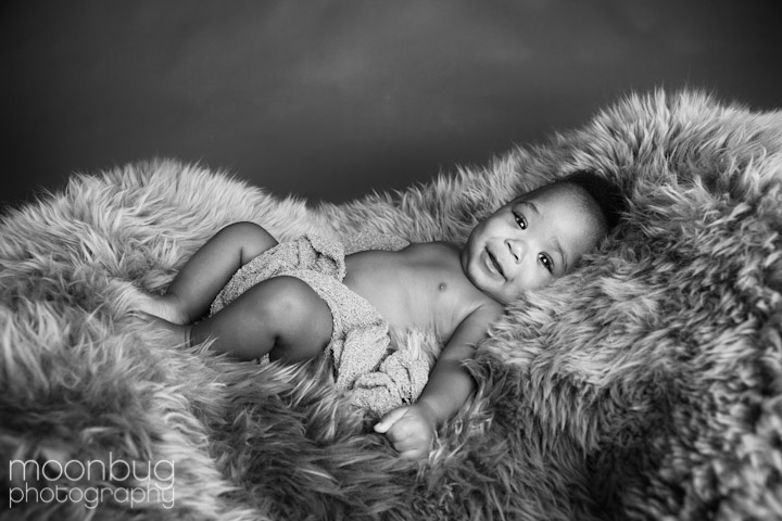 Sonja Clark commissioned to create baby photography gallery at Eskenazi NICU
