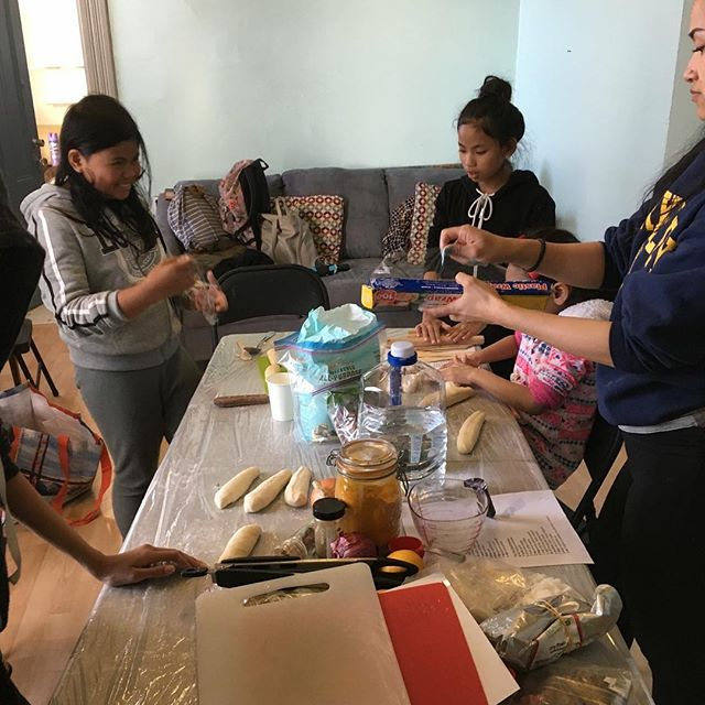 "Last Thursday our youth group made ""Momos"" from scratch. They're learning about other cultures through cultural cooking. Youth are very enthusiastic about cooking. We'll be making different dishes each week. Keep checking your notifications every Thursday for a new dish! #cultural #cooking #momos #fromscratch #cerieastbay #oakland #youth #community"