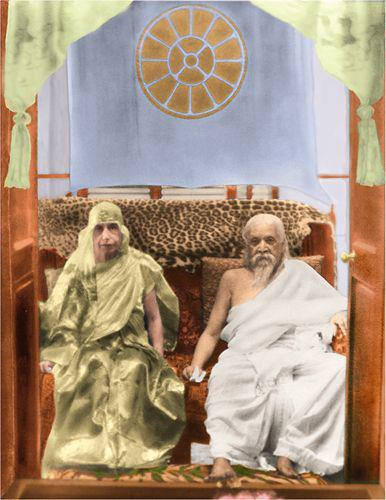 Sri Aurobindo & The Mother - True knowledge is not attained by thinking. It is what you are; it is what you become.