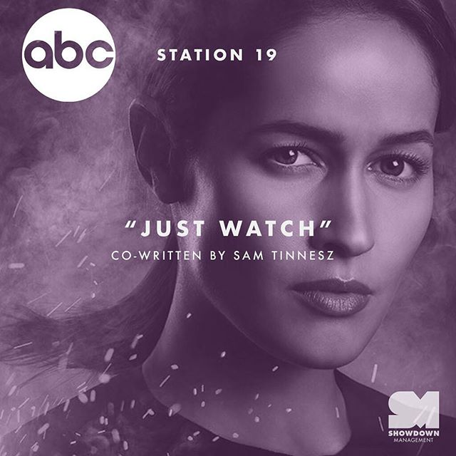 """Listen for @annamaemusic """"Just Watch"""" on tonight's episode of @station19 on @abcnetwork! Co-written by @samtinnesz 📺"""