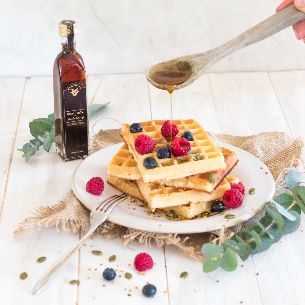 Black truffle maple syrup waffles_2.jpg