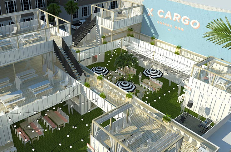 Xcargo - We were pleased to gain the approval for a Food and Drink Outlet and Hotel use in the heart of the Fortitude Valley.