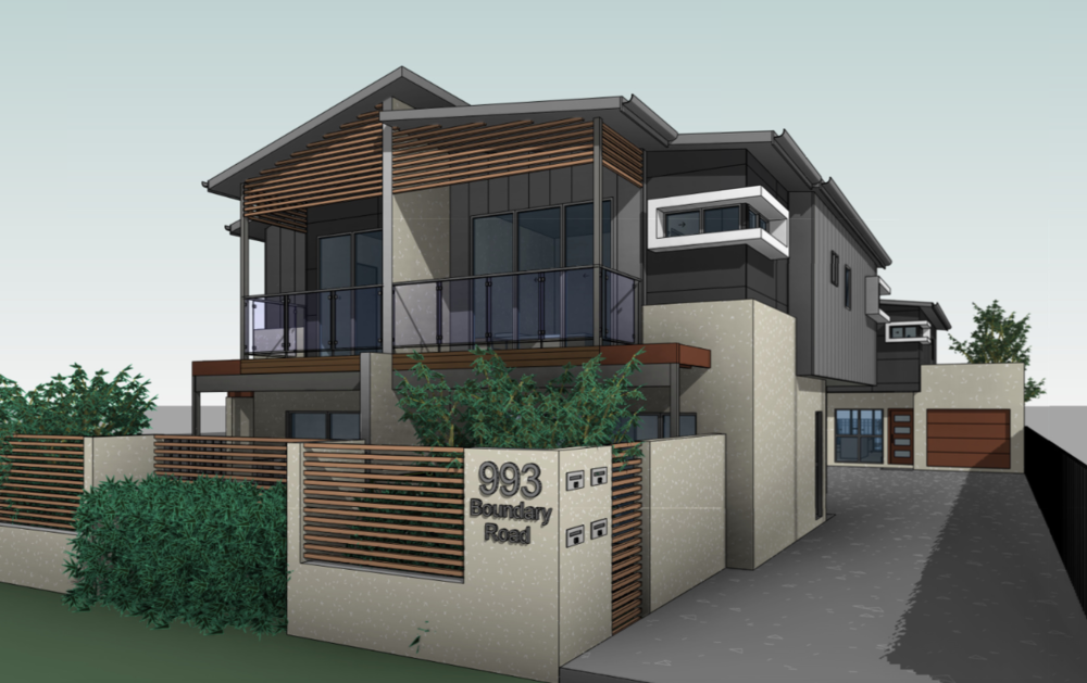 4x multiple dwellings - 4 dwelling units on one title approved in the Coopers Plains area. This one went through smoothly without any outstanding issues from Council.