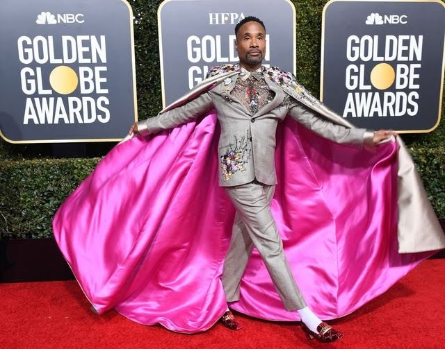 Stepping into the second week of 2019 like... Did anyone catch the #goldenglobes last night? We LOVED this badass cape look from #billyporter. What's the most daring outfit you've worn? Share your thoughts below 👩‍💻