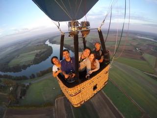 hot air balloon experience Sydney