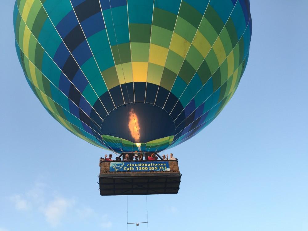 Hot air ballooning in Sydney, Hawkesbury