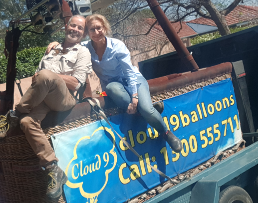 John & Clare Allen - Cloud 9 Balloons