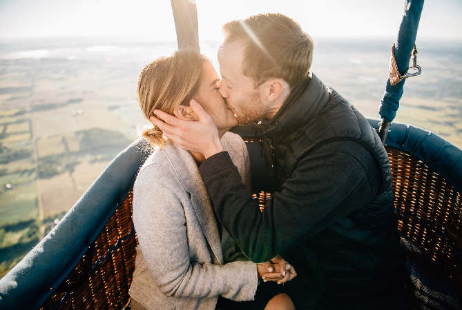 Hot air ballooning sydney ultimate marriage proposal