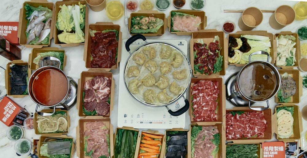 Hotpot can now be delivered to your home. Photo: Sina.com