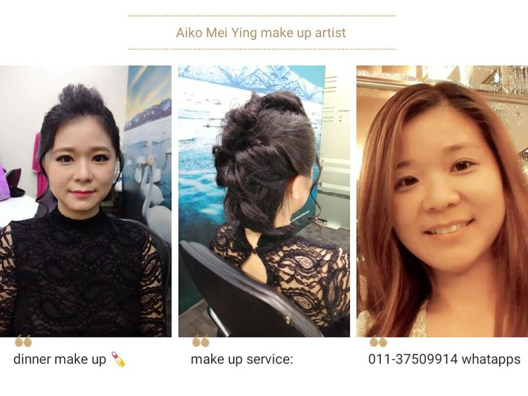 Aiko Mei Ying — Makertist.com The Best Makeup and Hairdo Services in Malaysia