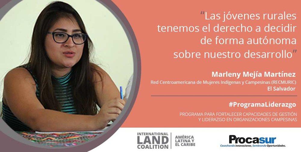 « Les jeunes femmes rurales ont le droit de déterminer leur développement de manière autonome »