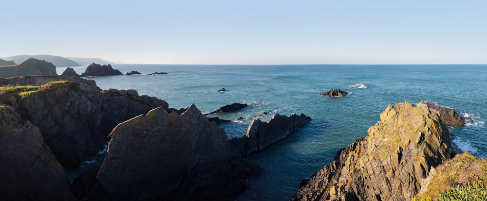 Cliffs at Hartland Quay, North Devon, UK