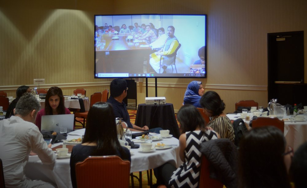 Fulbright alumni engage with grantees through direct video conference