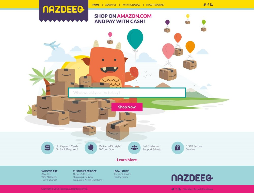 Check out Nazdeeq's interface!