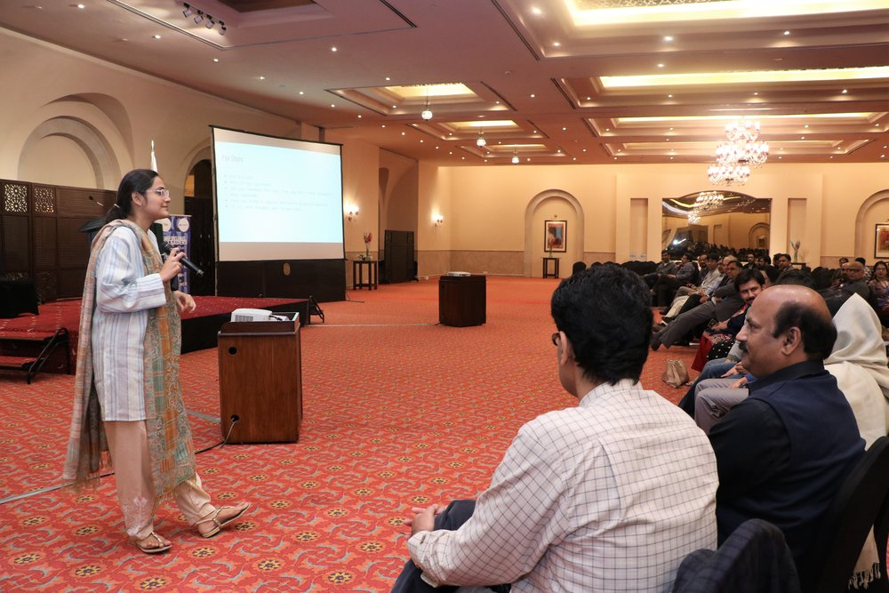 Mindfullness! - Fulbright alumna Noorulain Masood's workshop on training our minds to be more aware of the present moment!