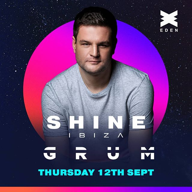 Honoured to be asked back to play for @shine_ibiza this summer, with a move to @eden_ibiza! I'll be back on the island September 12th 😍