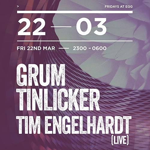 Excited to be a part of this fantastic lineup this Friday at @egg_club_london! Who's coming? 😊