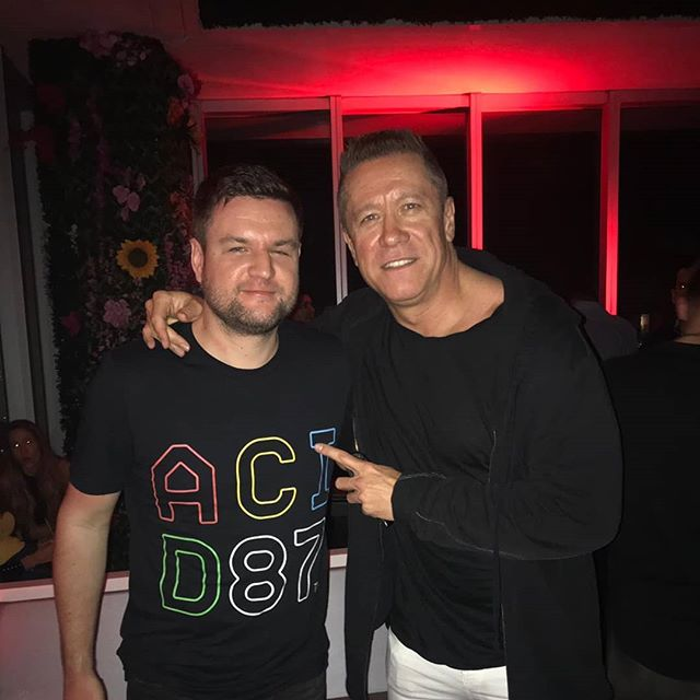 Awesome (and sweaty) night at the W Miami supporting @realcosmicgate  Cheers Bossi!