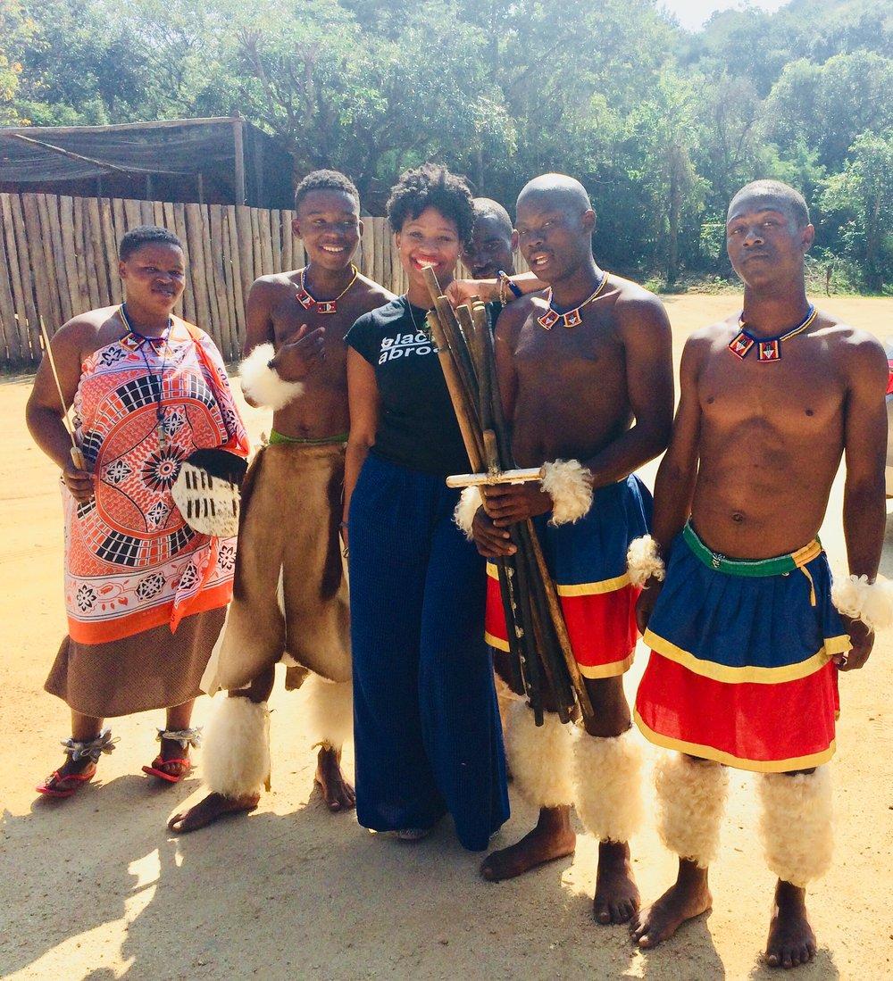 Rachel In Swaziland.JPG