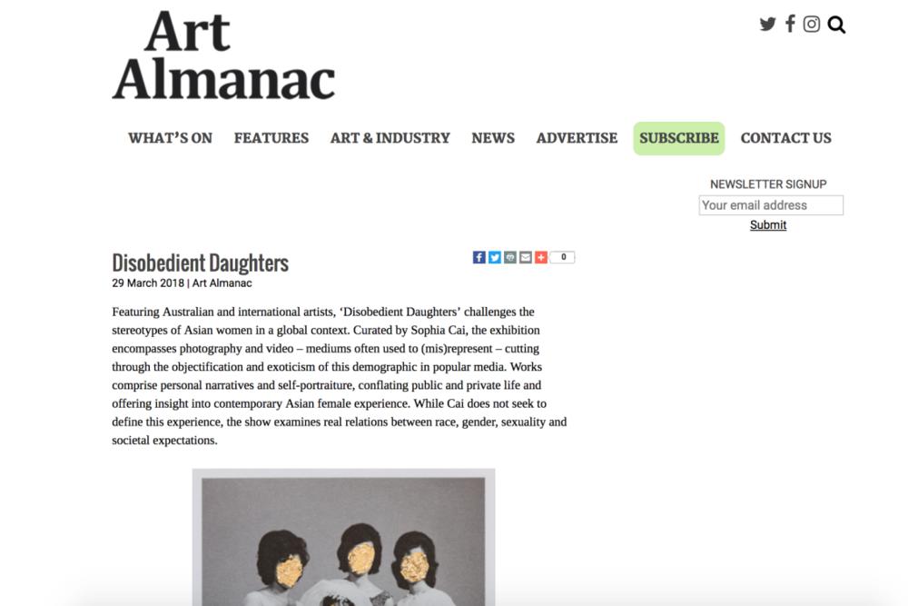 Art Almanac -