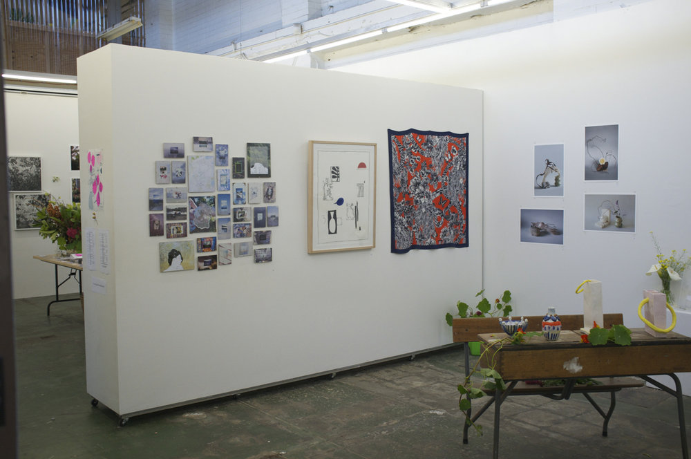 Install view, Secret Garden, 2015, Long Division Gallery