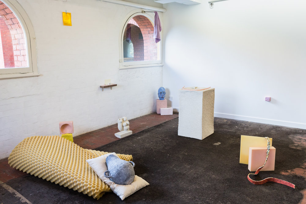 Install view,  Floor Plan,  2018, c3 contemporary art space, Melbourne. Photo: Janelle Low.
