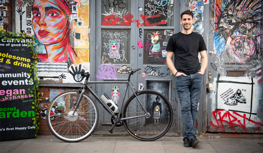 George kalliegeros, pushme Bikes