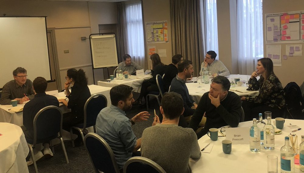 Opportunity for speed mentoring at the Advanced Engineering 2-day growth workshop