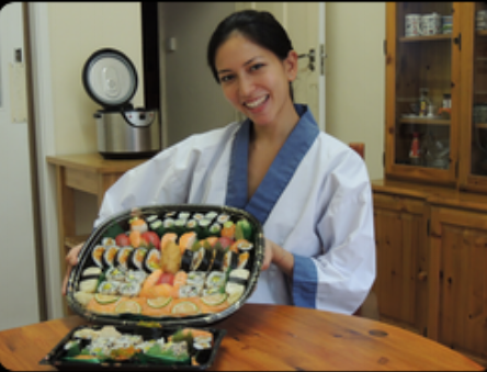 """I have been wanting to learn how to make sushi for years!! I am so glad  I finally learnt with Yoshi and Nari, their sushi course is brilliant.  It was a fun filled few hours with lots of interesting facts and  professional techniques that were well explained and fun to try out. A  huge bonus was the beautiful tray of delicious sushi I had to take home  to my friends, everybody was very impressed. Im looking forward to  practising my new found skills very soon with my starter package. I  recommend this course to anyone who wants to make authentic Japanese sushi!!"""